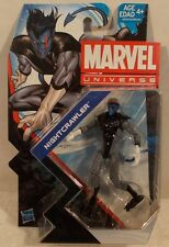 "Marvel Universe 3.75"" Series 5 #028 Nightcrawler Hasbro Mint On Card X-Men"