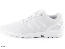 Adidas Men's ZX Flux Running Shoe WHITE/WHITE US Size: 8 ✔NEW✔