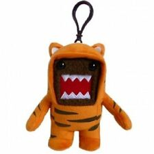 "DOMO TIGER Costume 4"" Plush Keychain Clip-On - NEW W/TAGS"