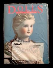 """DOLLS"" The Collectors Magazine , Vol 1 November 1, 1882 Premiere Issue"