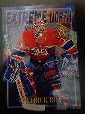 Patrick Roy 1995-96 Topps Extreme North #4EN Hockey Card Montreal Canadiens NM/M
