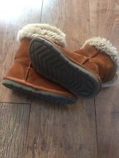 Girl's brown Next boots size 10 &11
