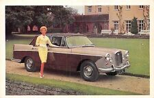 POSTCARD   CARS  ADVERT   WOLSELEY  6/110  Saloon with  Overdrive