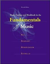 Study Outline and Workbook in the Fundamentals of Music by Dorothy Searight...