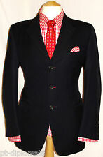 "MEN'S GIEVES & HAWKES NO.1 SAVILE ROW LONDON NAVY BLUE SUIT UK 40R W34"" XL31"""