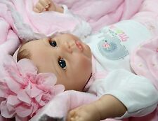 "I LOVE HUGS! - She Really Holds Your Hand! 22"" Collectors Baby Girl Doll"