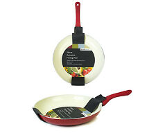 Chillipepper Ceramic Coated 28cm Non-Stick Frying Pan with Soft-Touch Handle
