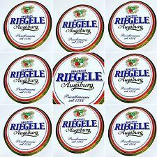 Targa Insegna Pubblicitaria Vintage Birra RIEGELE AUGSBURG BRAUHAUS ������