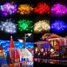 100/200 LED String Fairy Lights Indoor/Outdoor Xmas Christmas Party Lamp Decor