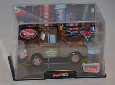 NEW! Disney Store PIXAR Cars 2 MATER Diecast Car W/Case CHASE With Sound! wasabi