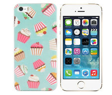 Hülle f Apple iPhone SE 5S 5 Schutz Tasche Case Cover Etui Handy Cupcake Muffin