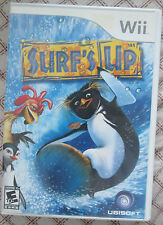 Nintendo Wii Surf's Up (Manual, box and game)