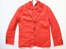 New Ralph Lauren RLX Nylon Blend Orange Jacket w/ Detachable Vest SLIM size XL