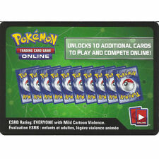 EMAIL Message ONLINE CODE X10 Pokemon TCG XY Ancient Origins Booster Pack Lot