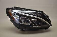 15 16 17 Mercedes W205 C-Class Right Passenger Full LED Headlight Complete OEM