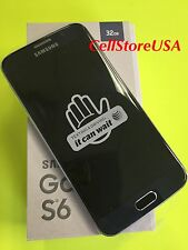 New Samsung Galaxy S6 G920A 4G LTE AT&T Unlocked Android Smartphone - 32GB Black