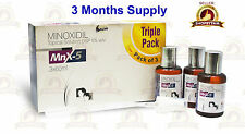 Minoxidil 5 for men hair growth topical solution 3 months supply