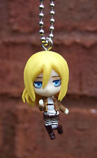 Attack on Titan Ball Key Chain Krista Lenz Shingeki no Kyojin SD Figure Christa