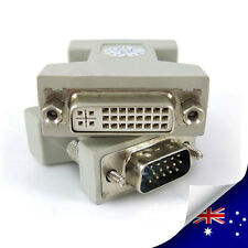 1 x DVI Female to VGA Male adapter DVI-I dual link 24+5 - NEW (N002)