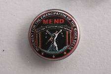 "Nigeria MEND Movement Emancipation Nigerian Delta Socialist 1"" Button Badge Pin"