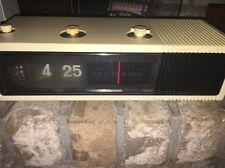Panasonic Vintage Woodgrain Flip AM Radio Alarm Clock RC-1282 PARTS OR REPAIR