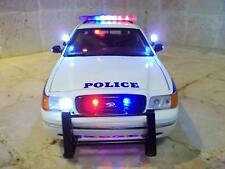 "1/18 NYPD New York Police Department ""HIGHWAY PATROL"" Trooper LED LIGHT/4 SIREN"