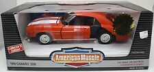 DAMAGED ERTL 1/18 1969 Chevy Camaro Z/28 ORANGE American Muscle Unrestored Parts
