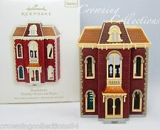 2007 Hallmark Bookstore Keepsake Ornament Nostalgic Houses and Shops 24th Series