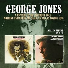 George Jones - Picture Of Me (Without You) / Nothing Ever Hurt Me [New CD] UK -