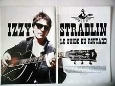 COUPURE DE PRESSE-CLIPPING :  IZZY STRADLIN [4pages] 06/2001 Interview,River