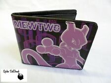 AWESOME NINTENDO'S POKEMON MEWTWO PURPLE & BLACK BI-FOLD WALLET *BRAND NEW*