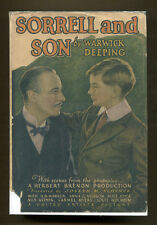 SORRELL AND SON by Warwick Deeping - 1927 1st G&D Photoplay Edition in DJ