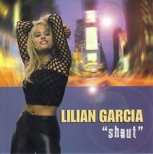 LILIAN GARCIA - SHOUT - CD SINGLE BOITIER ALBUM  2 TITRES 2002