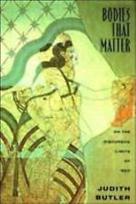 Bodies That Matter: On the Discursive Limits of Sex, Butler, Judith, Good Book