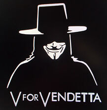 "Sticker Decal Auto-Aufkleber - ""V for Vendetta"" - Car-Styling - Eyecatcher"