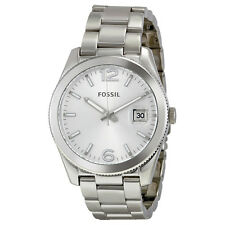 Fossil Perfect Boyfriend Silver Dial Stainless Steel Ladies Watch ES3585