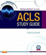 ACLS Study Guide Fourth Edition 4E by Barbara J. Aehlert, RN (2011, Paperback)