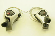 PAIR SHIMANO TOURNEY SL-TX50  21 SPEED (7 x 3) GEAR SHIFTER THUMBSHIFT LEVERS