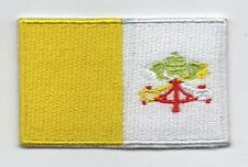 Embroidered VATICAN Flag Iron on Sew on Patch Badge HIGH QUALITY APPLIQUE