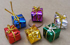 1:12 Wrapped Presents (6) Dolls House Miniature Accessories 1.5cm Cube 2302