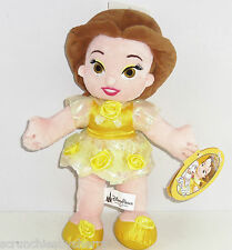 Disney Princess Little Belle Plush Doll Toy Fairy Tales Theme Parks New