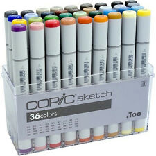 Copic Sketch Marker Set - 36 Pens
