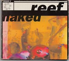 Reef 'Naked' CD single in fold-out digipack, 1995 on Sony @@LOOK@@