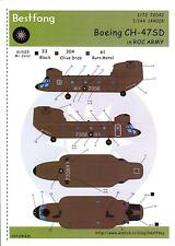 Bestfong Decals 1/144 BOEING CH-47SD CHINOOK Chinese Army