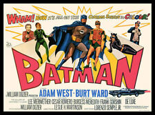 Batman FRIDGE MAGNET Adam West TV Show 3.5x5 Magnetic Movie Poster Canvas Print