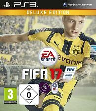 PS3 FIFA 17 Edition De Luxe Football 2017 & Playstation 3 Expédition colis