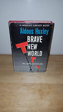 Aldous Huxley Brave New World - Modern Library - Hardcover - Free U.S. Shipping