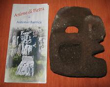 """Scultura/Maschera/Mascherone In """"PIETRA LAVICA"""" Dell'Etna/Sicilia/A.Barrica"""