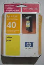 HP 40 (51640Y) Yellow/Color Ink Cartridge 5/2003