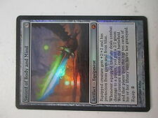Sword of Body and Mind from Scars of Mirrodin Foil X1 NM Near Mint MTG Magic